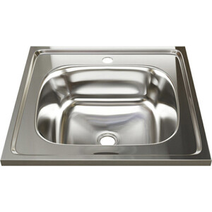 Кухонная мойка Mixline Накладная 50х50 0,4 мм (4630030631187) цена