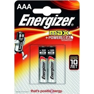 Батарейка ENERGIZER алкалиновая MAX E92 мизинец 2шт