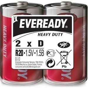 Батарейки Eveready D R20 (2шт)