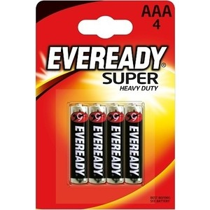 Батарейки Eveready Super Heavy Duty R03 (4шт)