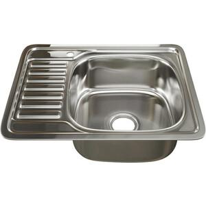 Кухонная мойка Mixline Врезная 48х58 с сифоном, нержавеющая сталь 0,6мм (4630030632290)
