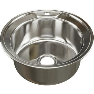 Кухонная мойка Mixline Врезная 49x49 с сифоном 0,6 мм (4630030631934) кухонная мойка mixline врезная 49x49 с сифоном 0 8 мм 4630030631965