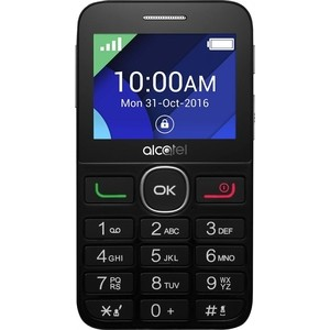 Мобильный телефон Alcatel OneTouch 2008G Full Black alcatel 2008g black