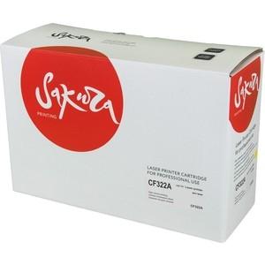 цена на Картридж Sakura CF322A желтый, 16 500 стр.