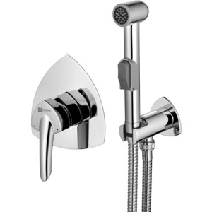 Смеситель для душа Lemark Mars с гигиеническим душем, встраиваемый (LM3519C) душевая система lemark mars для ванны и душа встраиваемый lm3522c