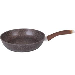 Сковорода d 26 см Kukmara Кофейный мрамор (смк262а) сковорода d 22 см со съемной ручкой kukmara кофейный мрамор смк222а