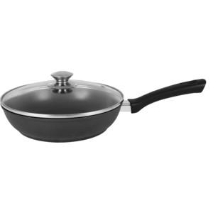 Сковорода d 26 см с крышкой Kukmara (с269а) сковорода d 24 см kukmara кофейный мрамор смки240а