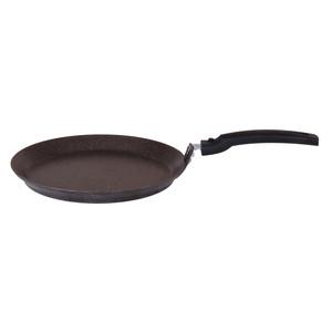 Сковорода для блинов d 22 см Kukmara Кофейный мрамор (сбмк220а) сковорода d 22 см со съемной ручкой kukmara кофейный мрамор смк222а