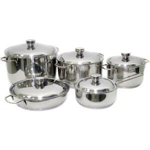 Набор посуды 10 предметов Амет Прима (1с895)