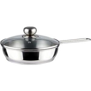 Сковорода 1.0 л с крышкой Амет (1с756 2 ручки)