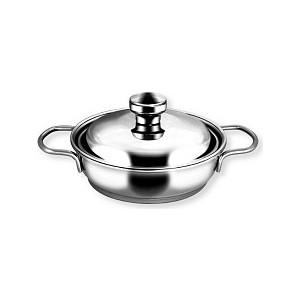 Сковорода 0.5 л с крышкой Амет Прима (1с744 2 ручки)