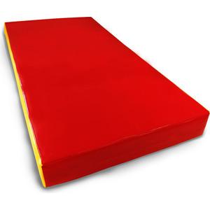 Мат КМС номер 1 (100х50х10см) красный/желтый