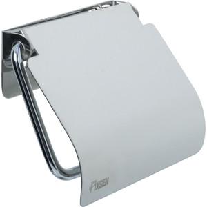 Держатель туалетной бумаги Fixsen Hotel с крышкой, хром (FX-31010)