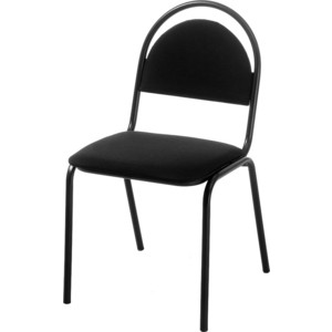 Стул Фабрикант Стандарт (ткань мебельная ТК-1 (черный) BL)