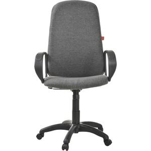 Кресло Фабрикант Биг (ткань мебельная ТК-2 (т.серый) ТГ PL 680 PL-1 ролик ст.)