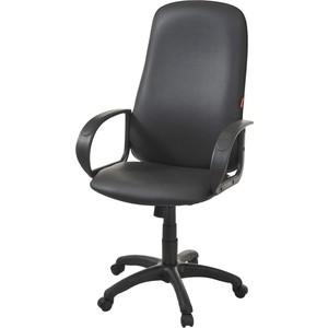 Кресло Фабрикант Биг (кожа иск. DO №350 (черный) ТГ PL 680 PL-1 ролик ст.)