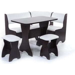 Набор мебели для кухни Бител Тюльпан - однотонный (венге, Борнео милк, венге)