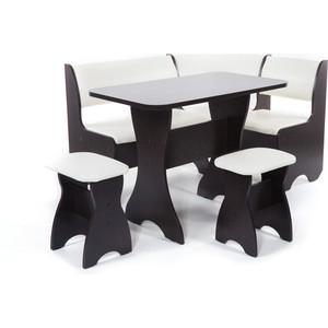 Набор мебели для кухни Бител Тюльпан - однотонный (венге, Борнео крем, венге)