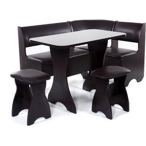 Набор мебели для кухни Бител Тюльпан - однотонный (венге, Борнео умбер, венге)