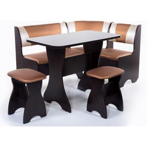 Набор мебели для кухни Бител Тюльпан - комби (венге с-109 + с-101 венге) цена и фото