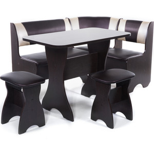 Набор мебели для кухни Бител Тюльпан - комби (венге с-221 + с-101 венге) цена и фото