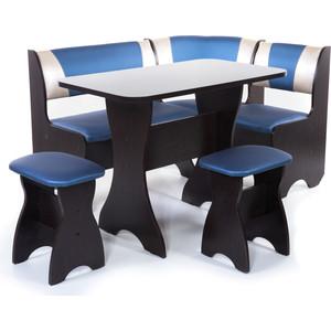 Набор мебели для кухни Бител Тюльпан - комби (венге, терра эффект-114 + с-101 венге)