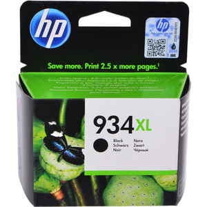 Картридж HP № 934XL (C2P23AE) чёрный 1000 стр.
