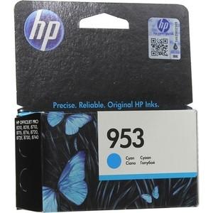 Картридж HP F6U12AE №953 голубой 700 стр.