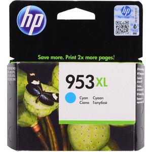 Картридж HP F6U16AE №953XL голубой 1600 стр.