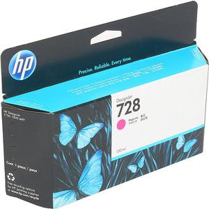 Картридж HP F9J66A №728 пурпурный 130 мл. цена
