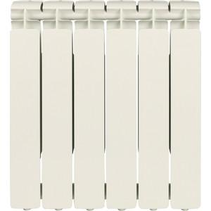 Радиатор отопления STOUT Bravo 500 6 секций алюминиевый боковое подключение