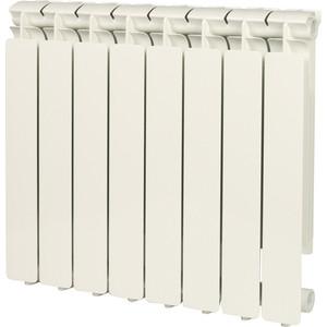Радиатор отопления STOUT Bravo 500 8 секций алюминиевый боковое подключение 500 5000 500