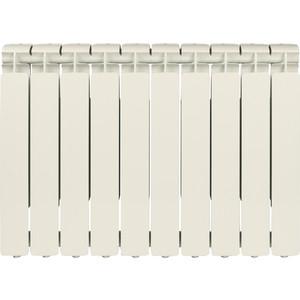 Радиатор отопления STOUT Bravo 500 10 секций алюминиевый боковое подключение радиатор алюминиевый alecord 10 секций 500 70
