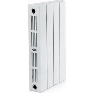 Радиатор отопления RIFAR SUPReMO 500 4 секции биметаллический боковое подключение (RIFAR S500-4) радиатор отопления rifar base 350 4 секции