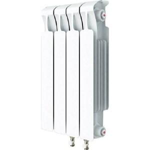 цена на Радиатор отопления RIFAR MONOLIT VENTIL 500 MVR 4 секций биметаллический нижнее правое подключение (RM50004 НП50)