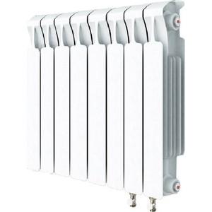 цена на Радиатор отопления RIFAR MONOLIT VENTIL 500 MVR 8 секций биметаллический нижнее правое подключение (RM50008 НП50)