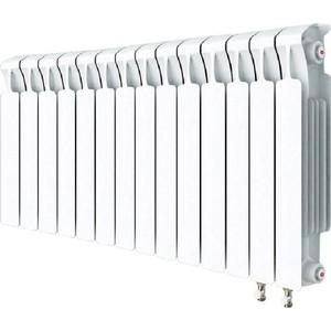 Радиатор отопления RIFAR MONOLIT VENTIL 500 14 секций биметаллический нижнее правое подключение (RM50014 НП50)
