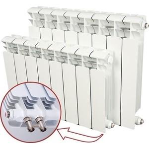 цена на Радиатор отопления RIFAR BASE VENTIL 500 BVR 10 секций биметаллический нижнее правое подключение (R50010 НПП)