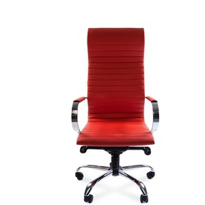 Офисное кресло Chairman 710 экопремиум красный цена
