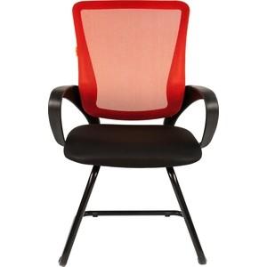 Офисное кресло Chairman 969 V TW красный цена и фото