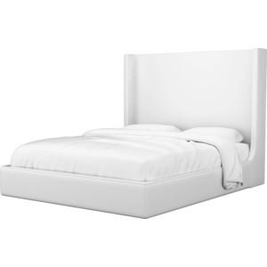 Кровать Мебелико Ларго эко-кожа белый