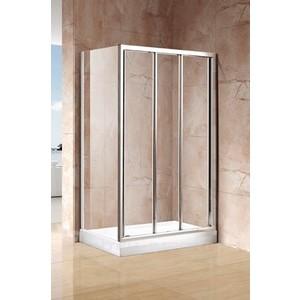 Боковая стенка для душевой двери Cezares Family 100 прозрачная, хром (Family-100-FIX3-C-Cr-M)