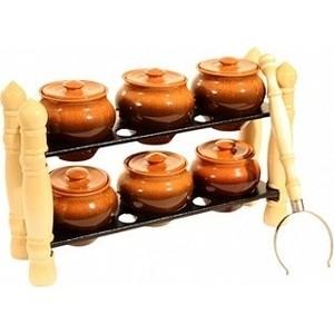 Набор керамических горшков Вятская керамика (НБР ВК-3Т)