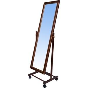 купить Зеркало напольное Мебелик В 27Н средне-коричневый по цене 2970 рублей