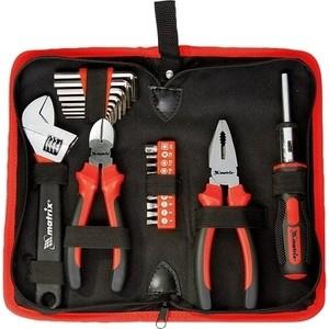 Набор инструментов слесарно монтажный Matrix 22 предмета (13561) набор слесарно монтажный matrix с квадратами 1 4 1 2 94 предмета