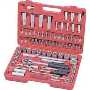 Набор инструментов слесарно-монтажный Matrix 94 предмета (13580) набор слесарно монтажный matrix с квадратами 1 4 1 2 94 предмета