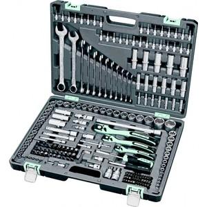 Набор инструментов Stels 216 предметов (14115) домкрат гидравлический бутылочный stayer 4т в кейсе red force 43160 4 k z01