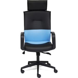 Кресло TetChair MODERN-1 черный/синий OH1014