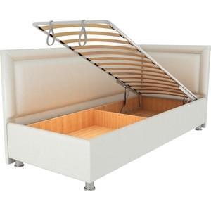 Кровать OrthoSleep Барби молочный механизм и ящик 80х200 правый угол кровать orthosleep барби бисквит механизм и ящик 80х200 правый угол