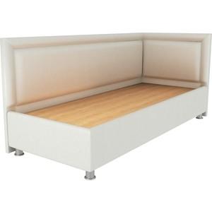 Фото - Кровать OrthoSleep Барби молочный жесткое основание 90х200 правый угол кровать orthosleep барби шоколад бисквит жесткое основание 90х200 правый угол